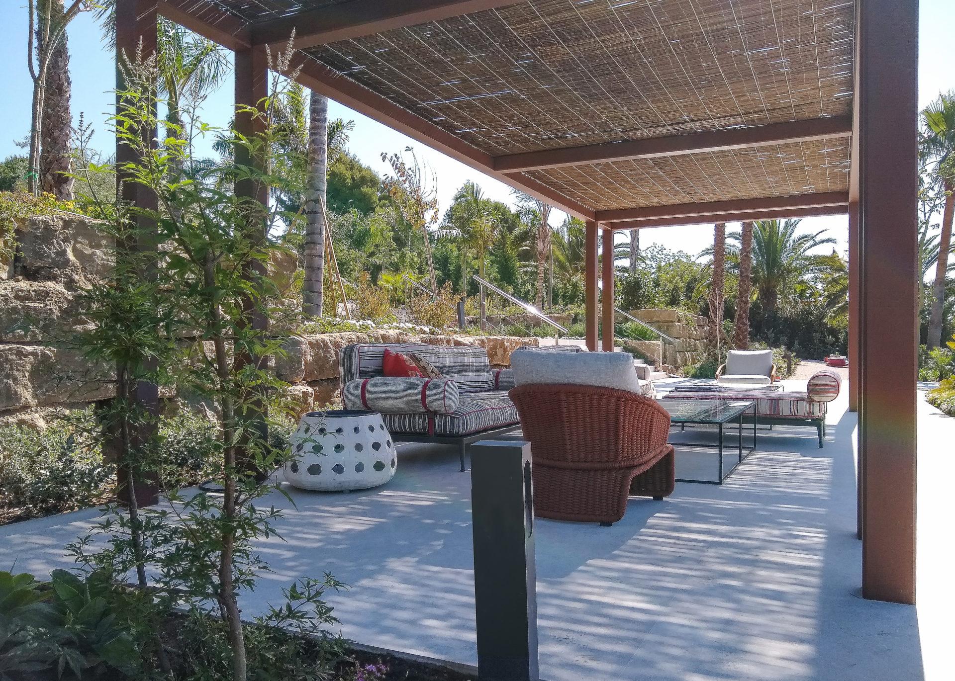 Jardín en Villa Serenity. Marbella