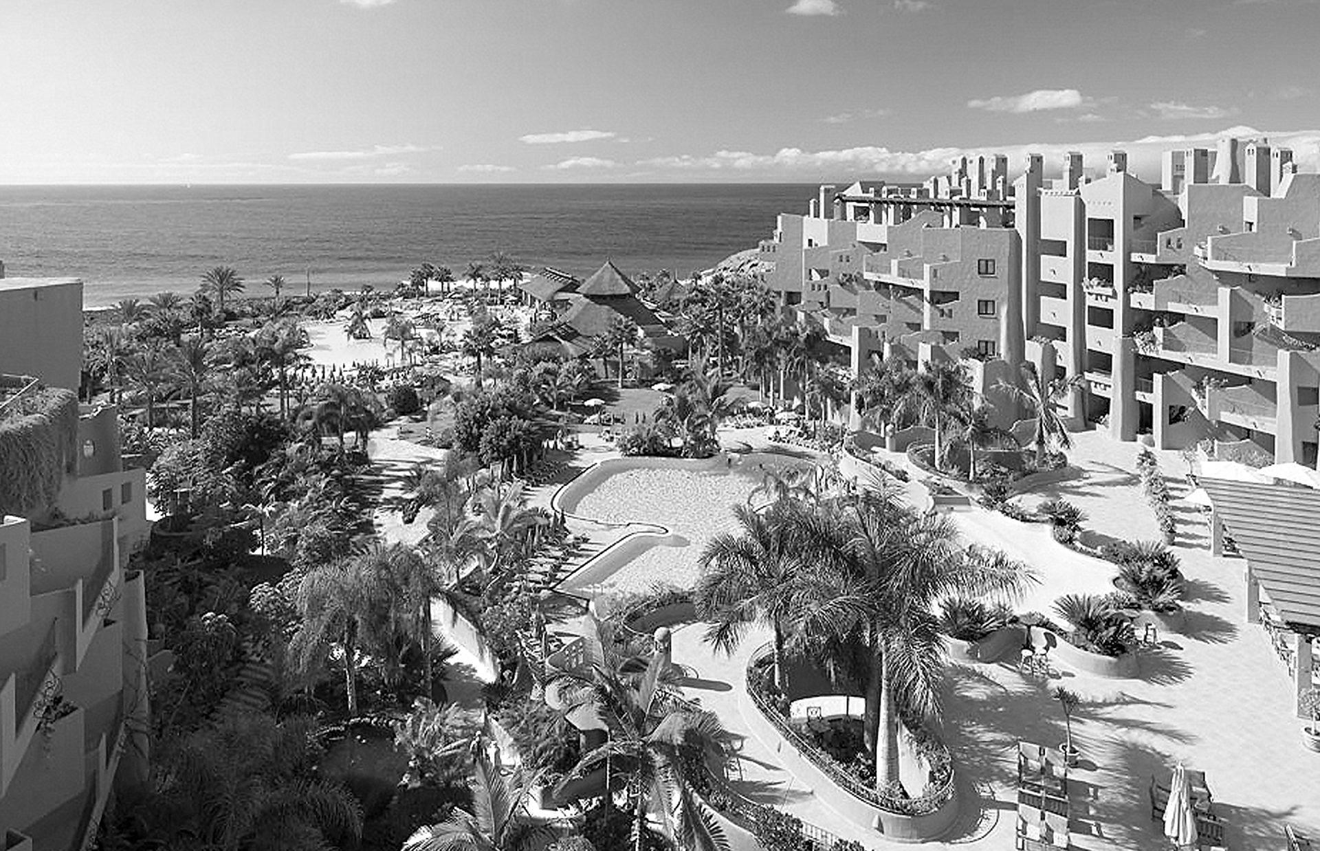 Paisajismo. Sheraton la Caleta Resort & Spa
