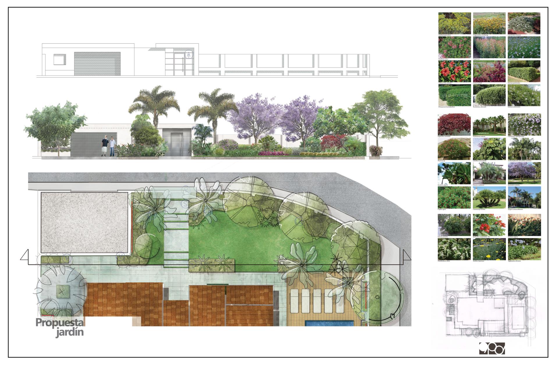 Reforma de jardín en Marbella